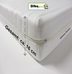 dibapur q 9 zonen orthop dische kaltschaummatratze im test dibapur kaltschaummatratze. Black Bedroom Furniture Sets. Home Design Ideas